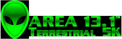 Area 13.1 Half Marathon & Terrestrial 5K Logo